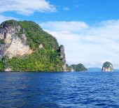 Landscape in Thailand, Krabi — Stock Photo