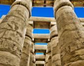 Columns in Karnak, Egypt. — Stock Photo