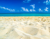 Caribbean sea beach — Foto de Stock