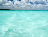 海滩和热带海 — 图库照片