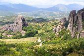 Monastery  in Meteora, Greece — Stock Photo