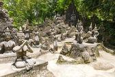 Tanim magic Buddha garden — Stock Photo