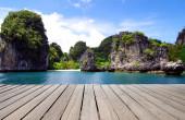 Sea in Krabi, Thailand — Stockfoto