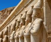 Ruins of Karnak temple in Egypt — Stock Photo