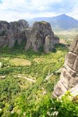 修道院メテオラ、ギリシャで — ストック写真