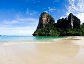 Strand en tropische zee — Stockfoto