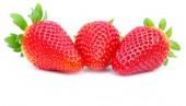 Red fresh strawberries — Stock Photo