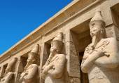 Karnak temple in Egypt — Stock Photo