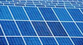 Solar panel  detail abstract — Stock Photo