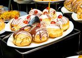Gâteaux sur plaque — Photo