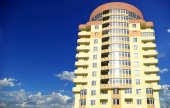 Modern apartments  building — Stock Photo