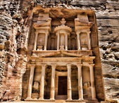 Al Khazneh in Petra, Jordan — Stock Photo