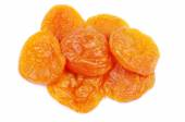 Heap of dried apricots — Stock Photo