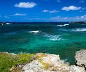 Caribbean sea and  sky — Stock Photo