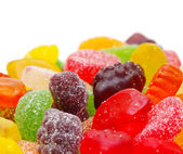 Colorful tasty candies — Stock Photo