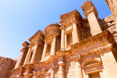 Ancien temple de petra, jordanie — Photo