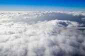 Blue sky clouds — Stock Photo