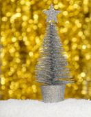 Decorative Christmas tree — Stock Photo