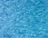 Modré bazénové vody — Stock fotografie