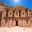 Ancient temple in Petra, Jordan — Stock Photo #64342533