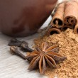 Cloves, anise and cinnamon — Stock Photo #64346705