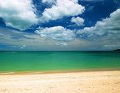 海和蓝天 — 图库照片