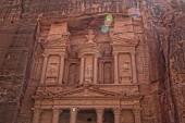Al Khazneh in Petra, Jordan — Stock Photo