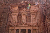 Al Khazneh in Petra, Jordan — Stockfoto