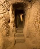 Cave city in Cappadocia Turkey — Stock Photo