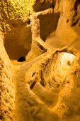 Derinkuyu cave city  — Stock Photo