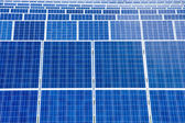 Solar panels detail abstract — Stock Photo
