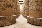 Hieroglyphics, Karnak, Egypt. — Stock Photo