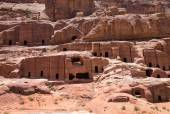 Rock formations in Petra — Stock Photo