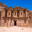 Ancient temple in Petra, Jordan — Stock Photo #66753039