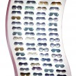 Collection of fashion sunglasses — Stock Photo #66753229