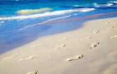 Plaża morze i niebo — Zdjęcie stockowe