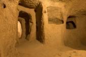 Derinkuyu cave city in Cappadocia — Stock Photo