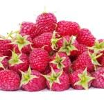 Ripe red raspberries — Stock Photo #70440879