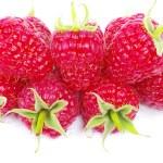 Ripe red raspberries — Stock Photo #70926611