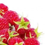 Ripe red raspberries — Stock Photo #70926865