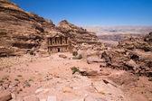 Temple in Petra, Jordan — 图库照片