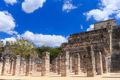 Chichen Itza feathered serpent pyramid — Stock Photo