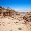 Ancient temple in Petra — Stock Photo #72824199