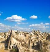 Formações de rochas na capadocia — Fotografia Stock