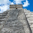 Kukulkan Pyramid in Chichen Itza Site — Stock Photo #73323547