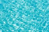 Agua de la piscina azul — Foto de Stock