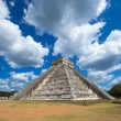 Kukulkan Pyramid in Chichen Itza Site — Stock Photo #73711335
