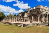 Chichen Itza pyramid in Mexico — Stock Photo