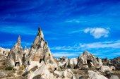 Formazioni di rocce in capadocia — Foto Stock