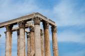 Temple of  Olympian Zeus  in Athens — Stock Photo